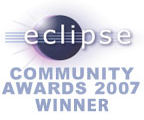 Eclipse Community Award 2007 Winner