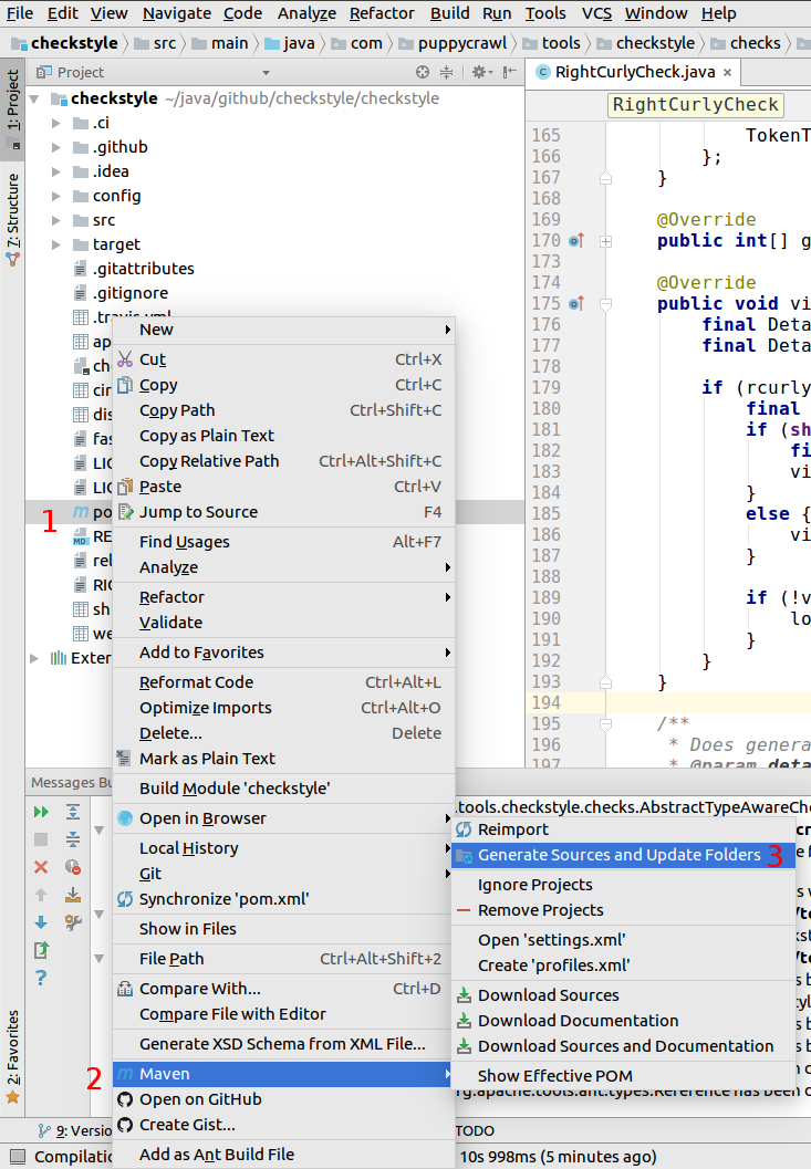 checkstyle – Importing and debugging in IntelliJ IDE